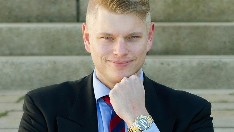 Andreas Jansson, entreprenör och privat investerare.Text av Carin Andrén