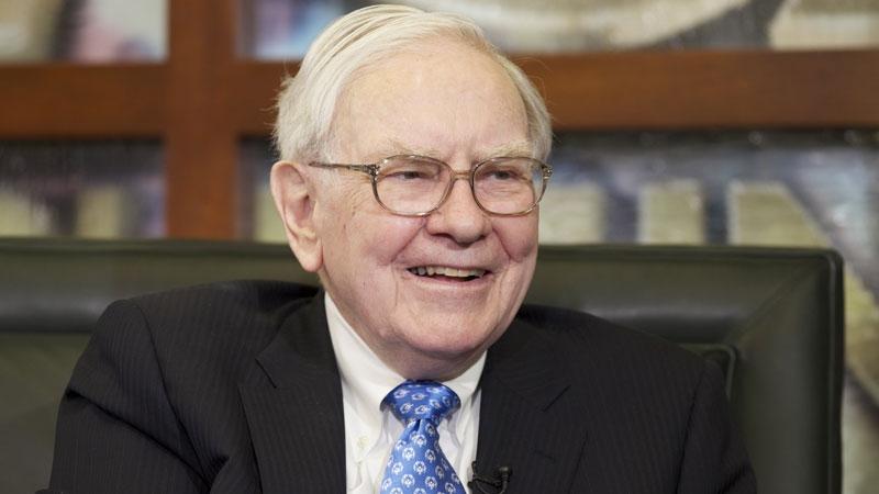 Warren Buffett, känd investerare. AP Photo/Nati Harnik