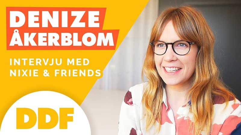 Intervju med Dénize Åkerblom som driver profilreklamföretaget Nixie & Friends