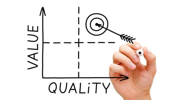 Ge kunderna kvalitet, service och en bättre kundupplevelse, i stället för ett lägre pris