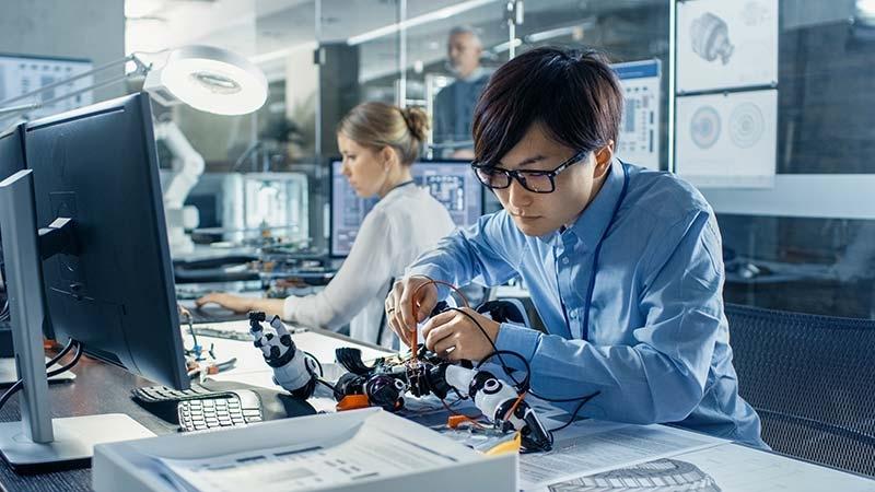 Den kinesiska innovationsklyftan på AI-området