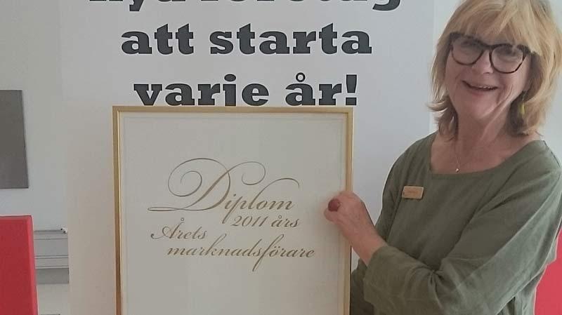 Birgit Båvner jobbar med företagsrådgivning på Nyföretagarcentrum i Nyköping