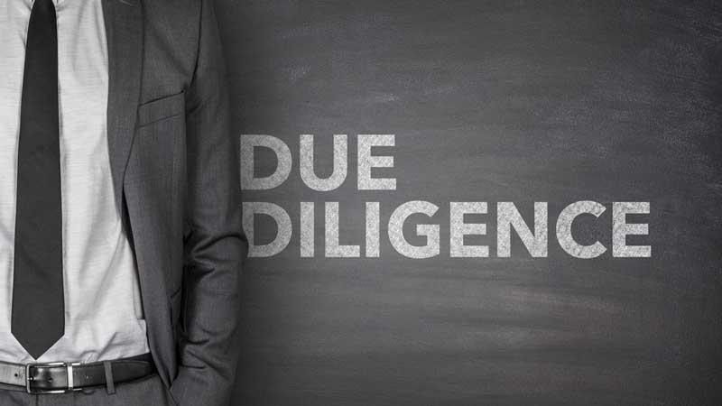 Företagsbesiktning, Due Diligence eller DD, är en process för att samla in och analysera information inför ett företagsförvärv