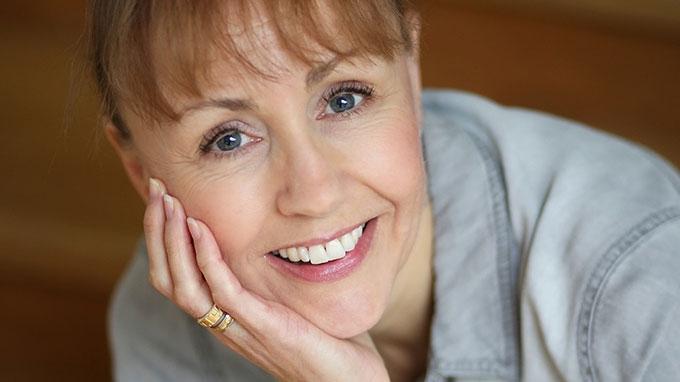 Entreprenören och författaren Charlotta Rexmark. Text av Nina Jansdotter