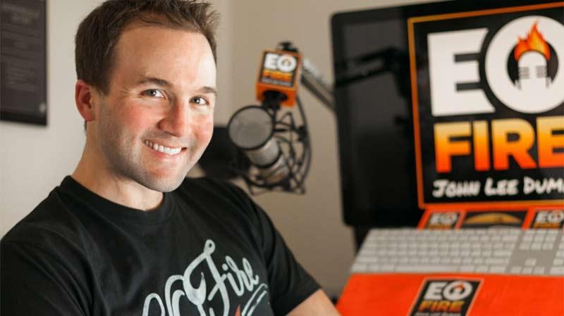 Podcastaren John Lee Dumas