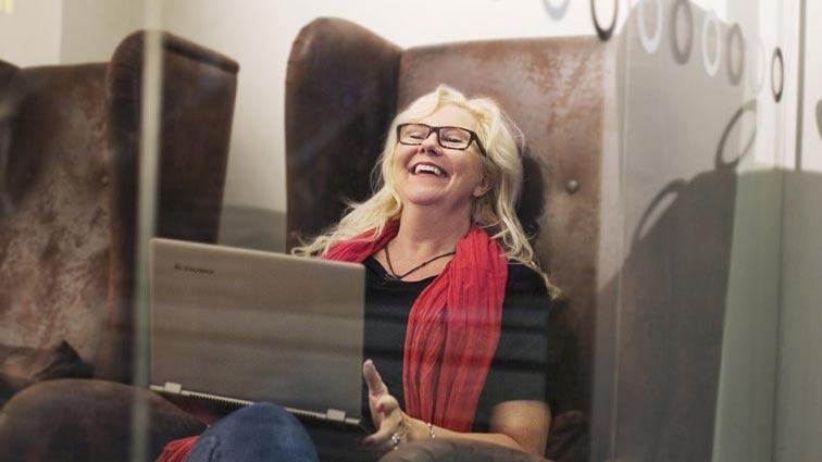 Anna Åberg, digital nomad