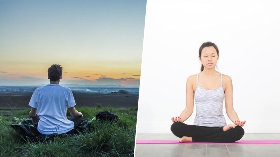 Meditation minskar bruset. Författad av Peter Ahrberg