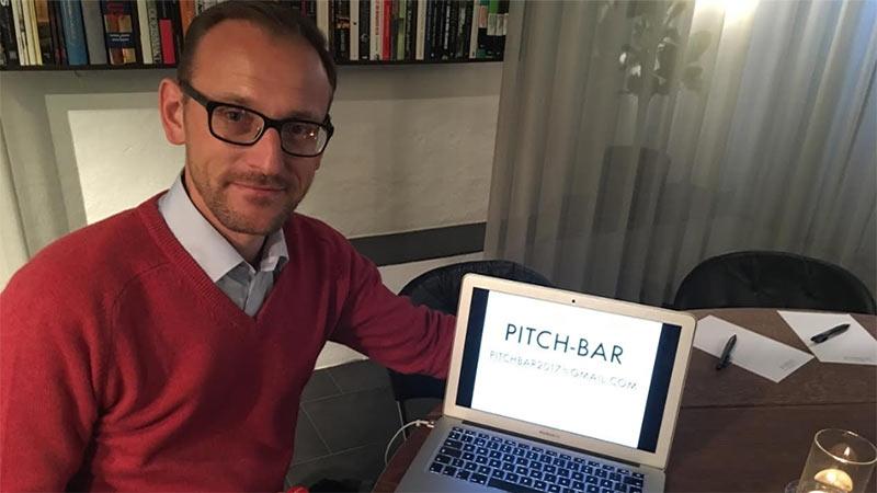 Mikael Roupé, driver konceptet Pitch Bar™. Text av Nina Jansdotter