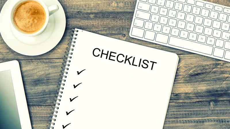 Checklista på 49 skäl varför folk köper