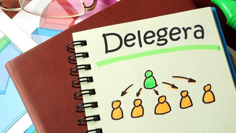 Sluta delegera!
