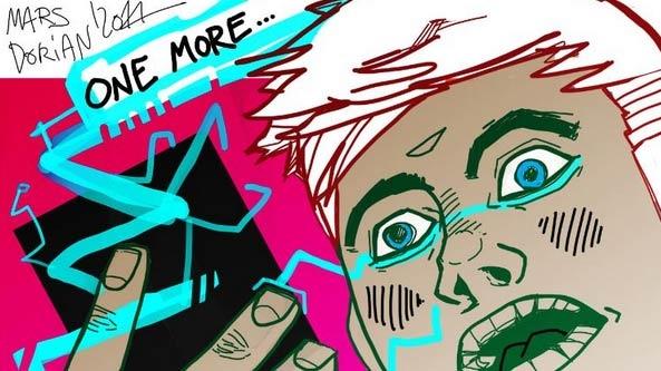 . Illustration Mars Dorian