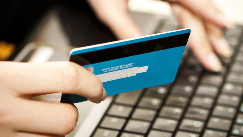 Betala webbutik med kreditkort