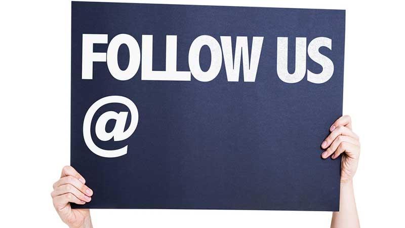 Följ de som lyckats på Facebook, Twitter och Instagram. Text av Lisa Vainio
