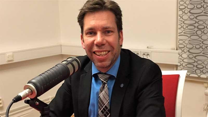 Mats Uddin, regiondirektör i Östergötland