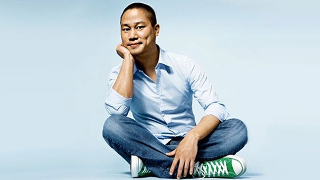 """Zappos VD Tony Hsieh: """"På en skala från 1-10, hur konstig är du?"""""""