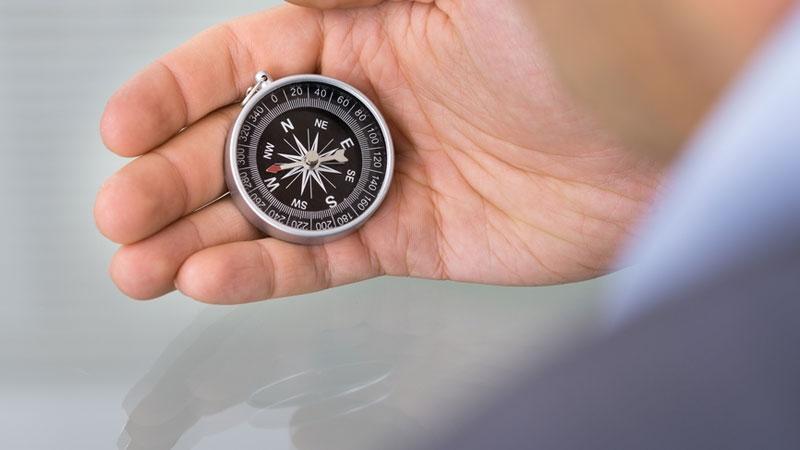 Kompass - guidande principer för ledarskap