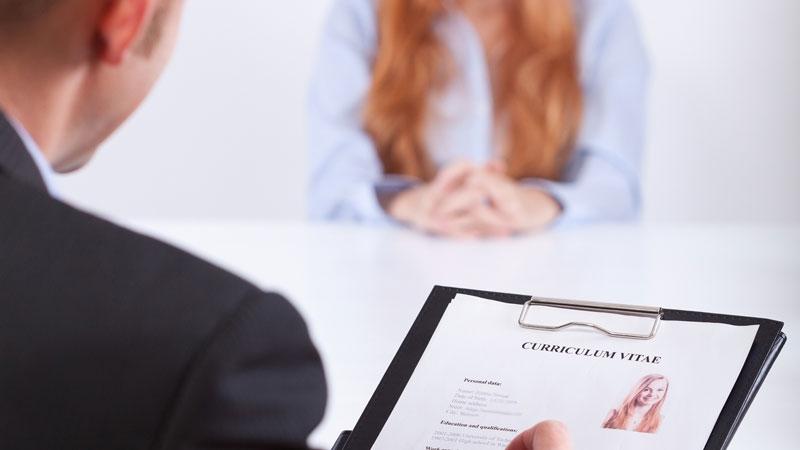 . Intervju och urval är sista steget