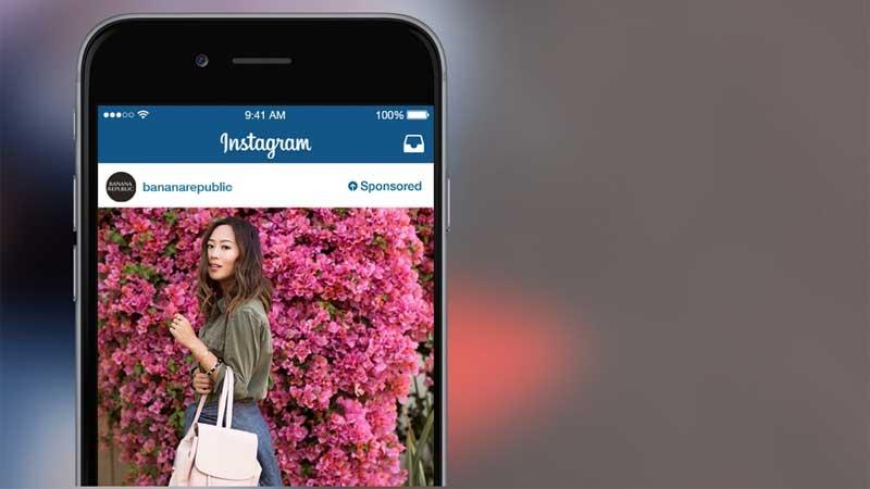 Annonsering på Instagram. Bild: Sponsrade inlägg från Instagrams företagssida