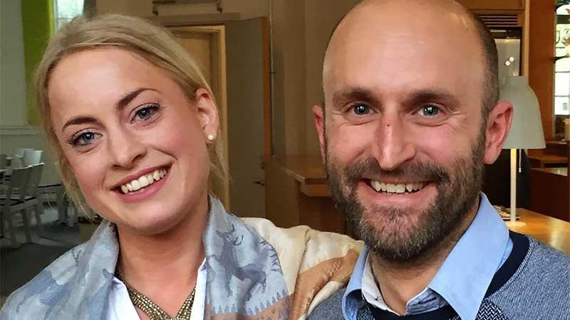 Louise Berg och Stefan Vidar på Teknomedia