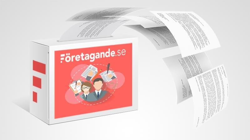 Företagarpaketet: +40 juridiska affärsmallar av högsta kvalitet