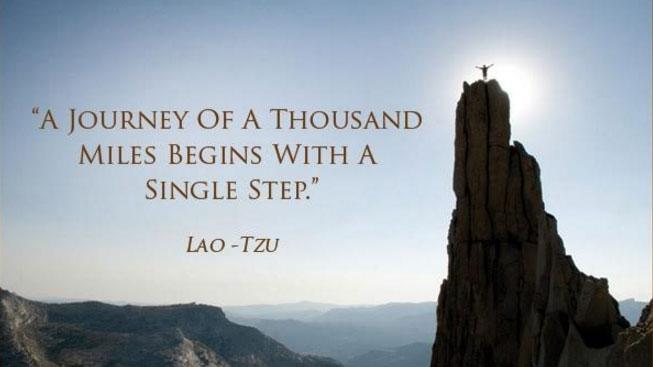 """Citat från Lao Tzu (stavas även Lao Zi, Laozi och Lao Tse - det betyder """"den gamle"""")"""