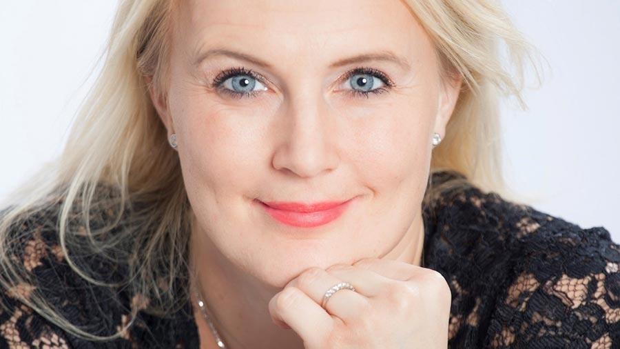 Entreprenören, föreläsaren och författaren Therese Albrechtson