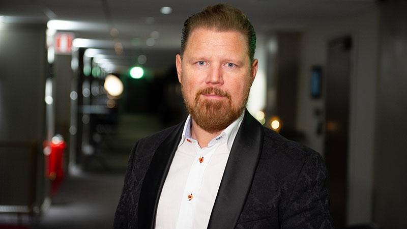 Marcus Dahlgren, entreprenör och grundare av Devide. Text av Nina Jansdotter