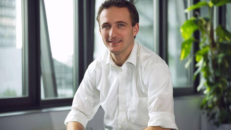 Andreas Fruth, medgrundare och VD på Cuponation