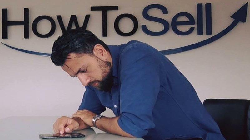 """I huvudet på en """"toppsäljare"""": Navid Fard"""