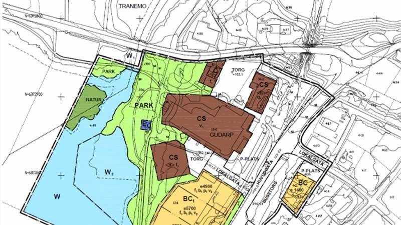 Detaljplan över Tranemo kommun