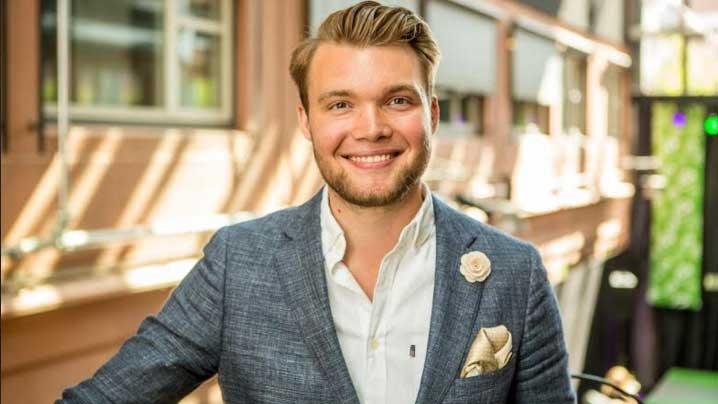 Emanuel Nilsson föreläser om entreprenörskap, stress och att prestera och må bra