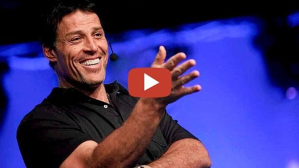 Tony Robbins: inspiratör, coach och författare