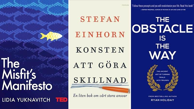 Tre böcker för företagare som vill vässa yxan