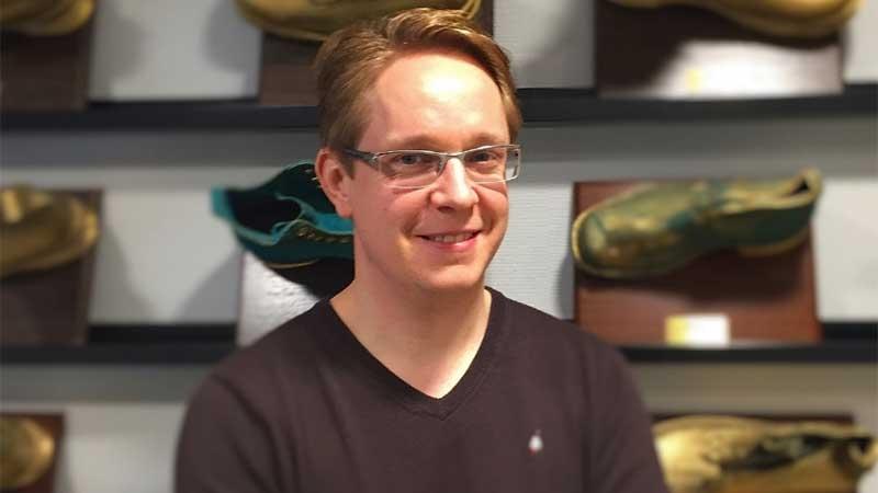 Niklas Ekvall, grundare och VD för Comordo