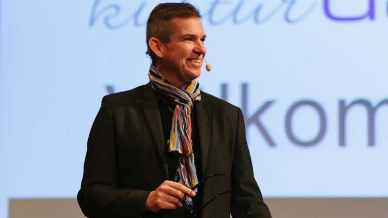 Micke Darmell, grundare av företaget gr8 meetings