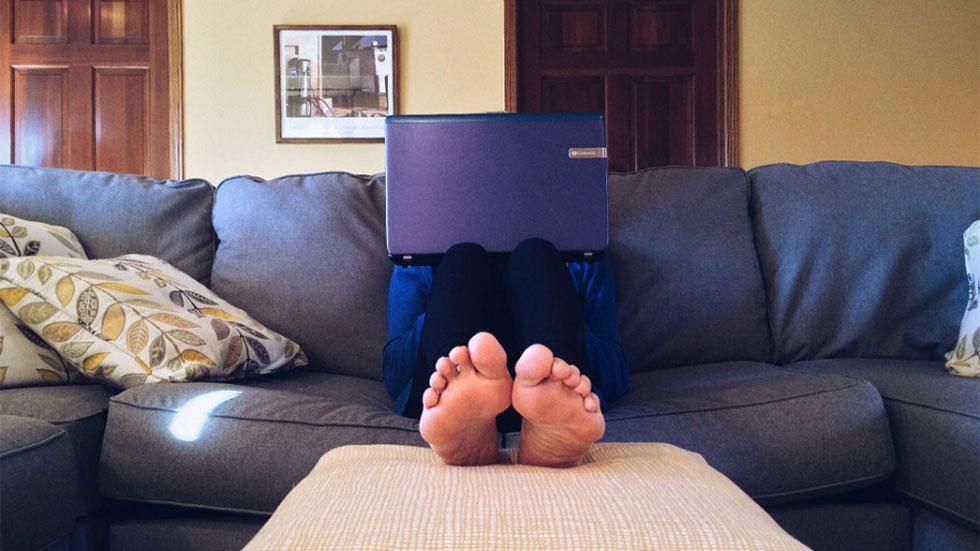 Att jobba hemifrån kan vara detsamma som att vara på kontoret – minus alla bakterier