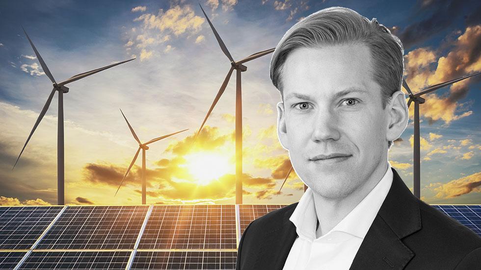 Mattias Lilja, Business Manager inom Enterprise på Fortum.