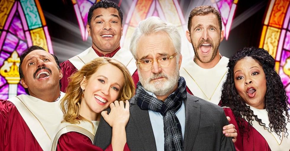 Foto: NBC. Skådespelarna i Perfect Harmony