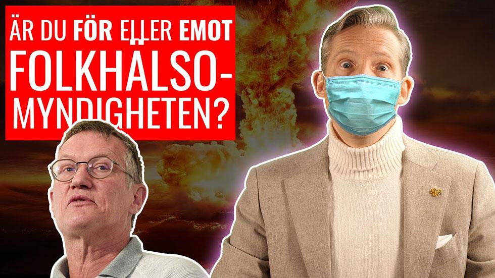 Är du FÖR eller EMOT Folkhälsomyndigheten?
