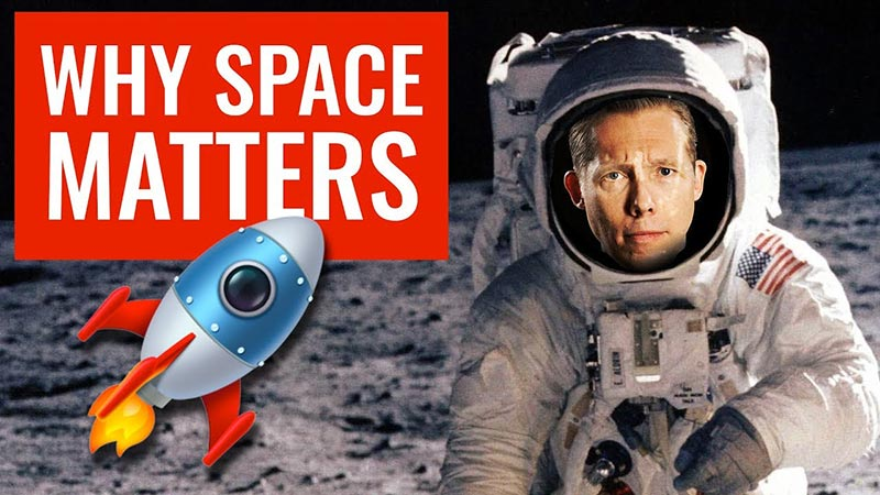 Why space matters: is the western civilisation in decline?