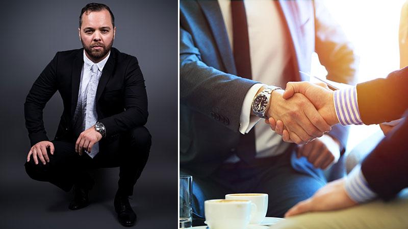 John Knutsson, jurist och skatteexpert.