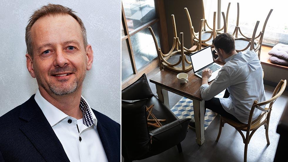 Mattias Andersson, näringspolitiskt ansvarig, Småföretagarnas Riksförbund