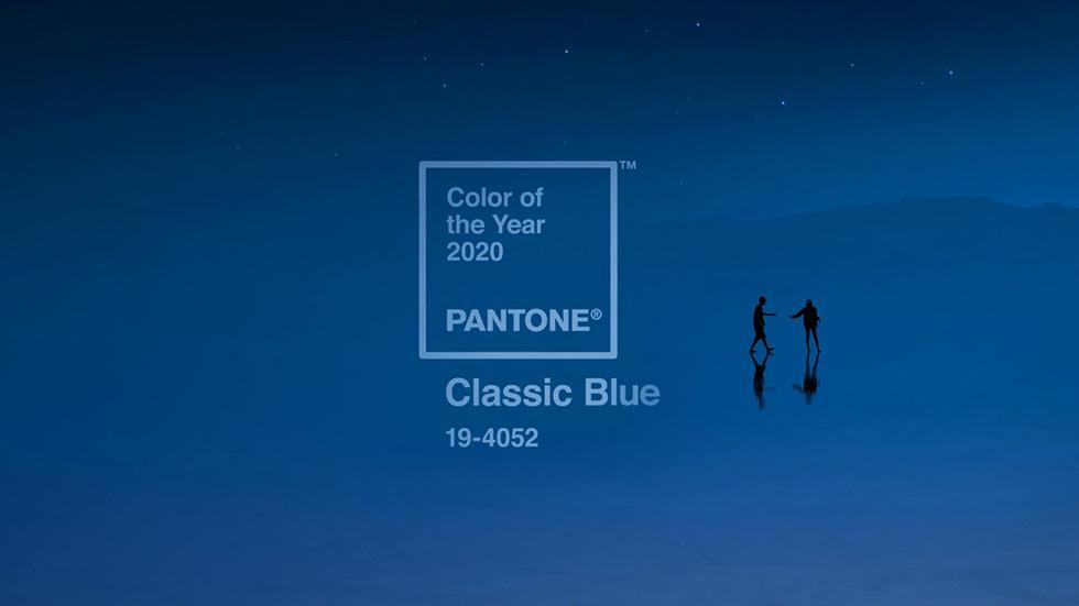 Färginstitutet Pantones trendkulör för 2020 är classic blue.