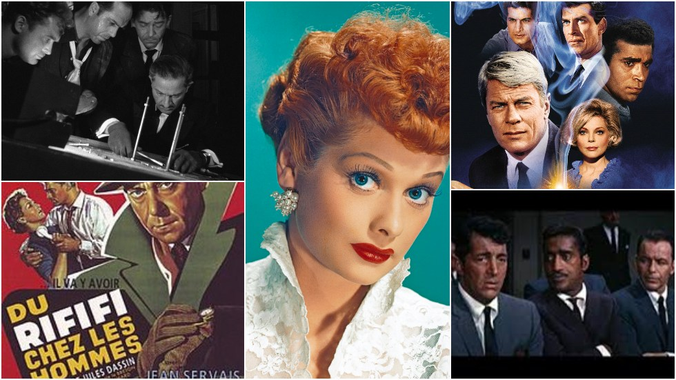 Foto: Rififi, Lucille Ball, Mission Impossible, Ocean's 11.