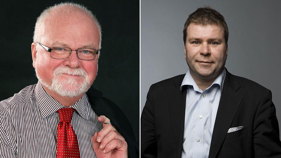 t.v. Hans-Olle Frummerin, t.h. Stefan Lindström
