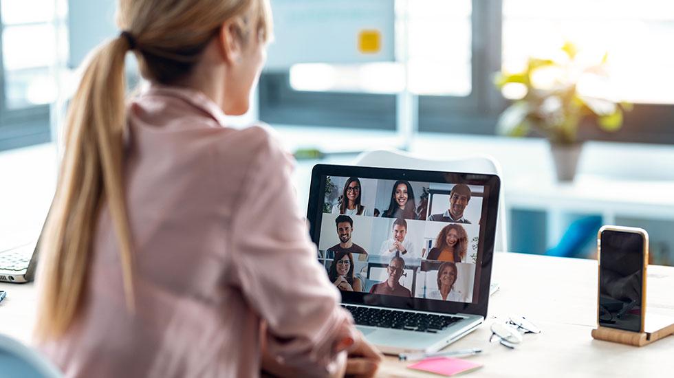 Visa ditt bästa jag vid digital möten