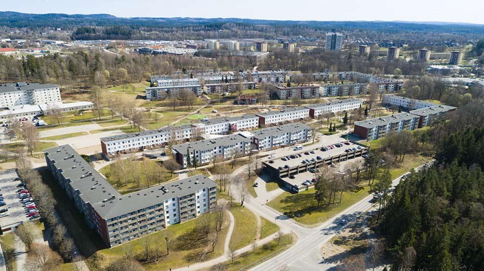 Hässleholmen i Borås.
