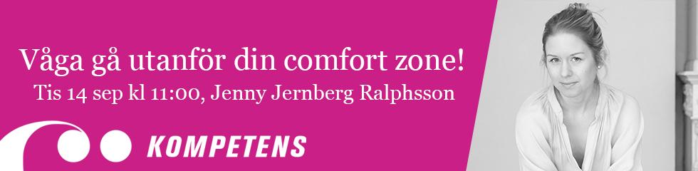 Onlineföreläsning: våga gå utanför din comfort zone