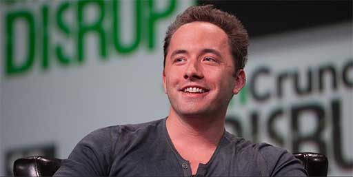 Drew Houston, grundare av Dropbox